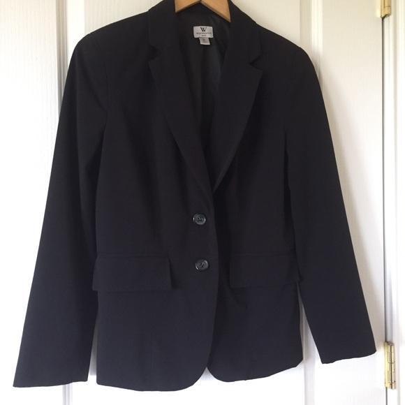 Worthington Jackets & Blazers - EUC Worthington black fitted blazer jacket size 8P